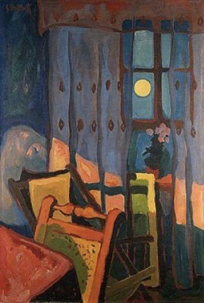 表现主义 德国画家罗特鲁夫(1884-1976)插图57
