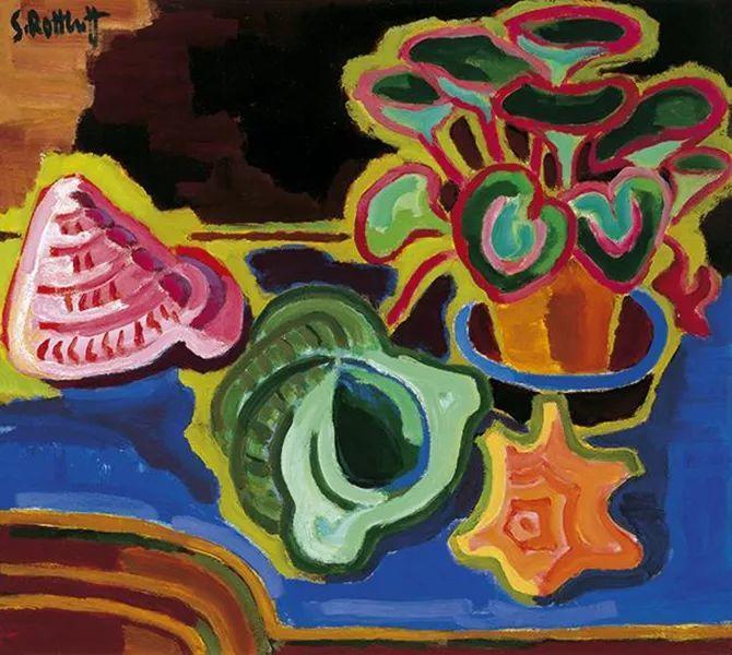 表现主义 德国画家罗特鲁夫(1884-1976)插图59