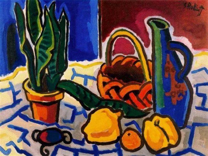 表现主义 德国画家罗特鲁夫(1884-1976)插图63