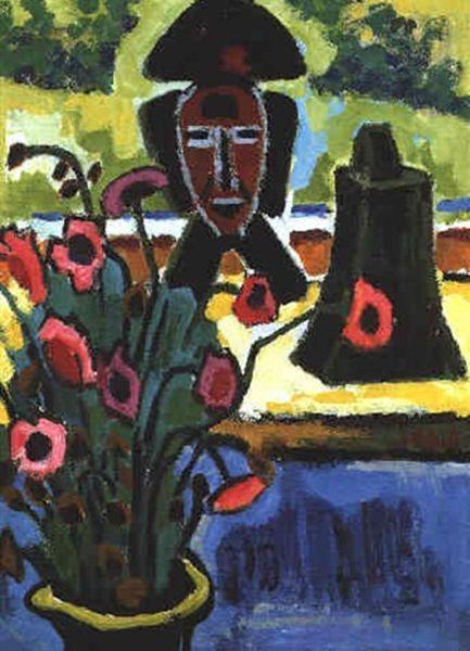表现主义 德国画家罗特鲁夫(1884-1976)插图65