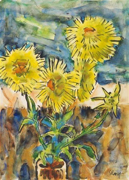 表现主义 德国画家罗特鲁夫(1884-1976)插图67