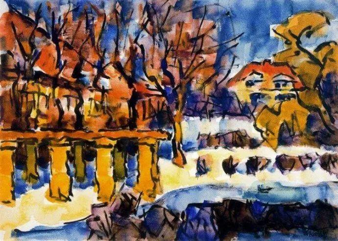 表现主义 德国画家罗特鲁夫(1884-1976)插图69