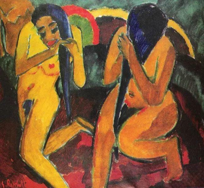 表现主义 德国画家罗特鲁夫(1884-1976)插图73