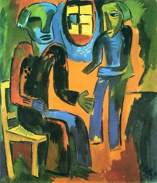 表现主义 德国画家罗特鲁夫(1884-1976)插图75