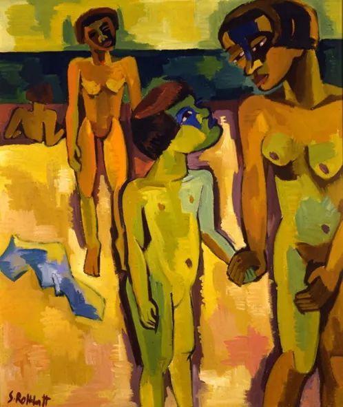 表现主义 德国画家罗特鲁夫(1884-1976)插图77