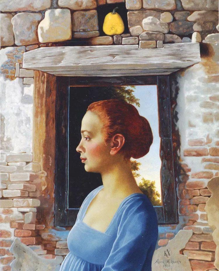 人物油画 乌兹别克斯坦Arsen Kurbanov作品插图11
