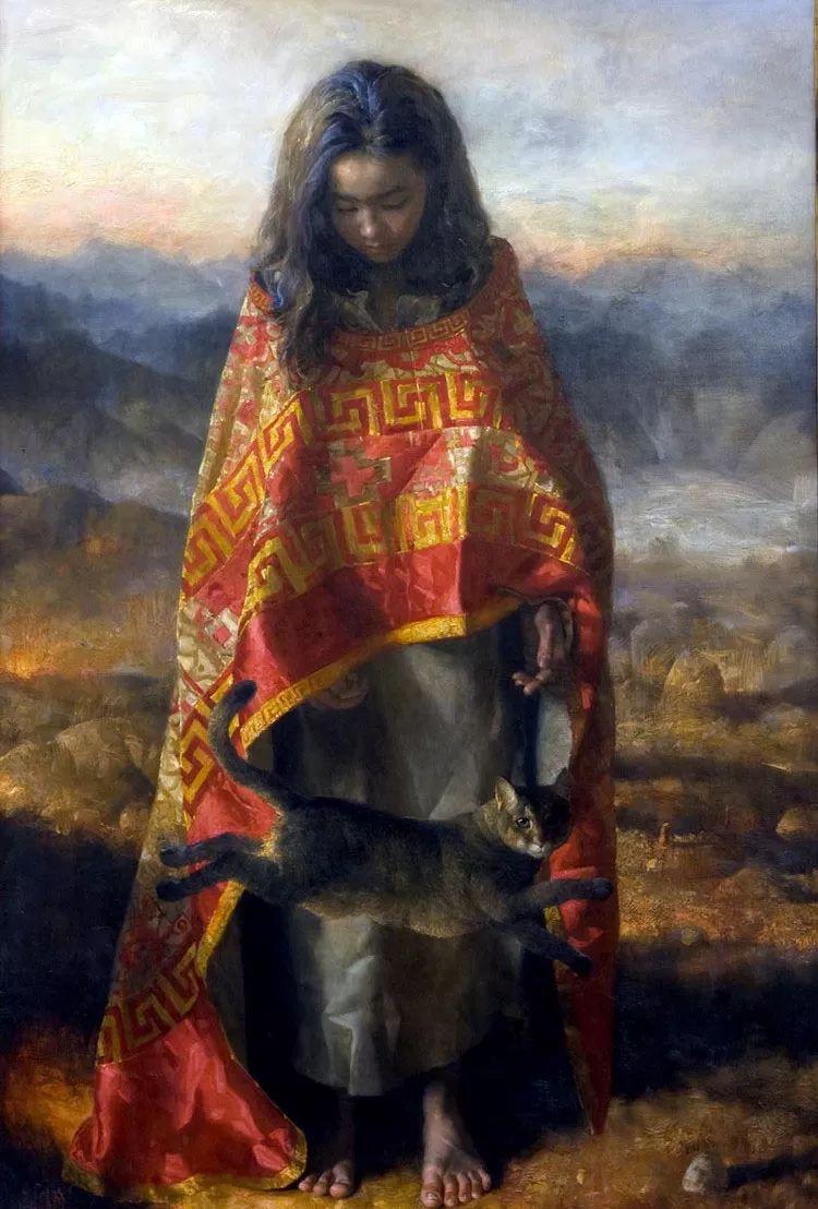 人物油画 乌兹别克斯坦Arsen Kurbanov作品插图17