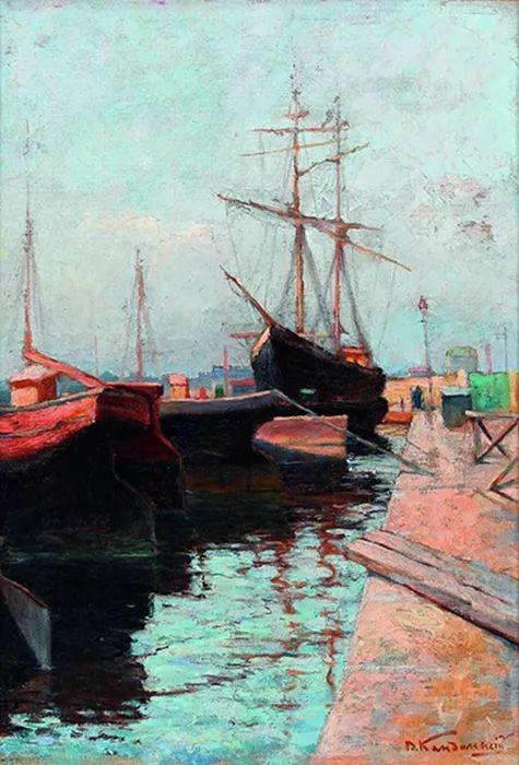 抽象主义 俄罗斯画家康定斯基(1866-1944)插图3