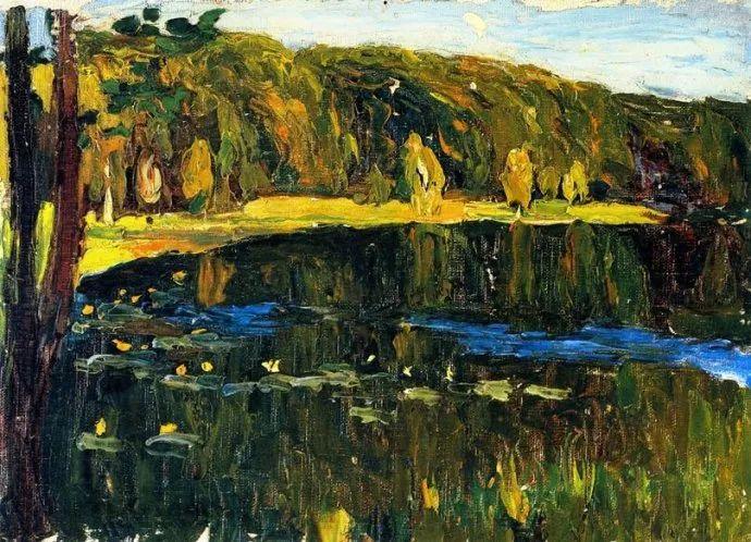 抽象主义 俄罗斯画家康定斯基(1866-1944)插图5