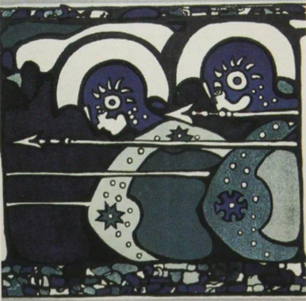 抽象主义 俄罗斯画家康定斯基(1866-1944)插图7