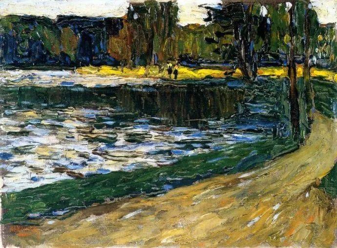 抽象主义 俄罗斯画家康定斯基(1866-1944)插图11