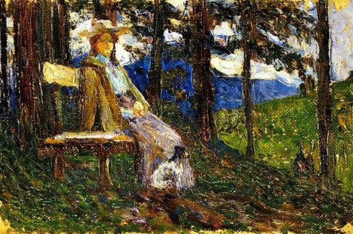 抽象主义 俄罗斯画家康定斯基(1866-1944)插图17