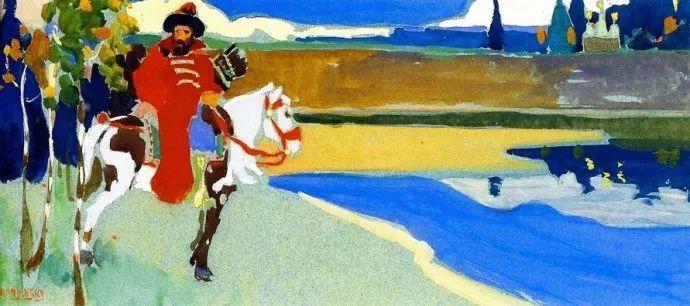 抽象主义 俄罗斯画家康定斯基(1866-1944)插图19