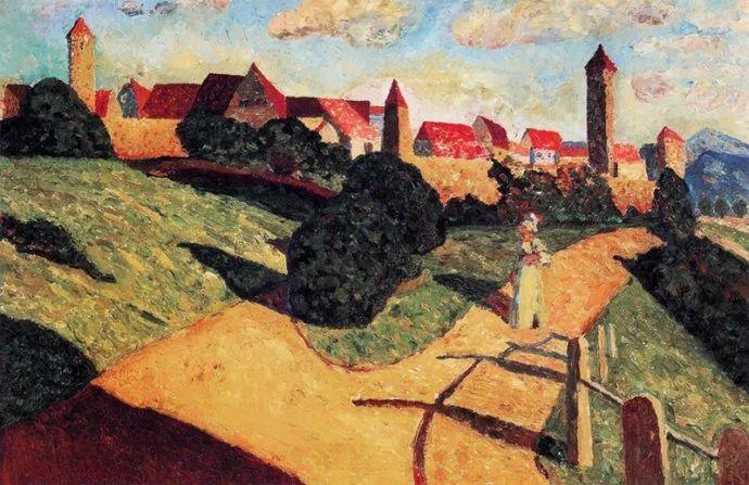 抽象主义 俄罗斯画家康定斯基(1866-1944)插图23