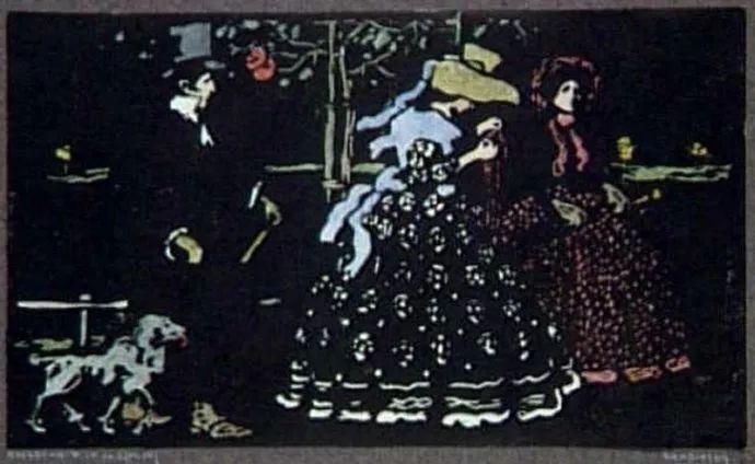 抽象主义 俄罗斯画家康定斯基(1866-1944)插图25