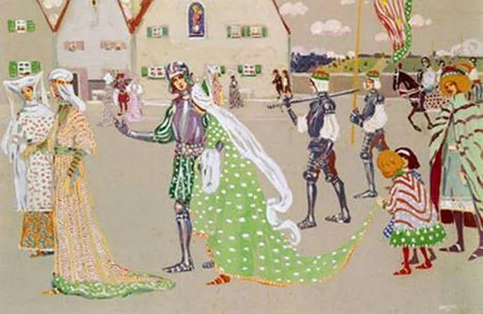 抽象主义 俄罗斯画家康定斯基(1866-1944)插图33