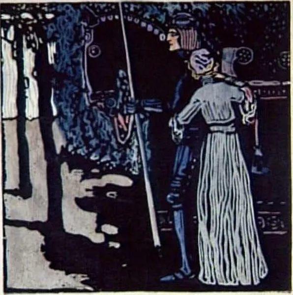 抽象主义 俄罗斯画家康定斯基(1866-1944)插图37