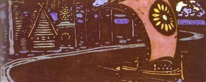 抽象主义 俄罗斯画家康定斯基(1866-1944)插图41