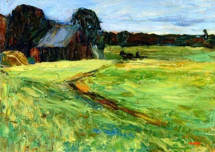抽象主义 俄罗斯画家康定斯基(1866-1944)插图45
