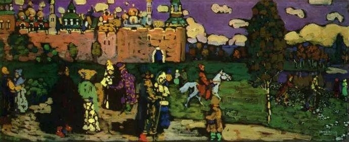 抽象主义 俄罗斯画家康定斯基(1866-1944)插图47