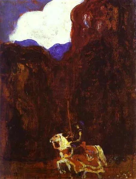 抽象主义 俄罗斯画家康定斯基(1866-1944)插图51