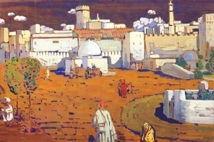 抽象主义 俄罗斯画家康定斯基(1866-1944)插图53