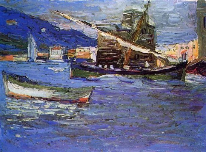 抽象主义 俄罗斯画家康定斯基(1866-1944)插图55