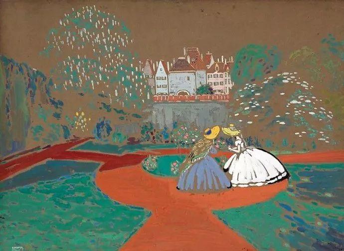 抽象主义 俄罗斯画家康定斯基(1866-1944)插图57