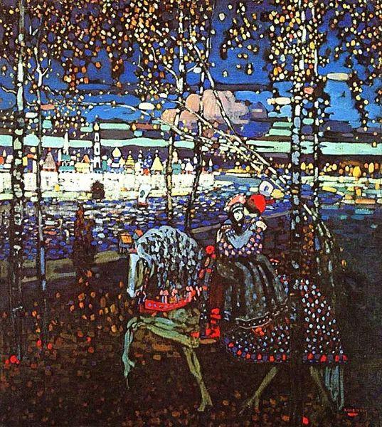 抽象主义 俄罗斯画家康定斯基(1866-1944)插图61