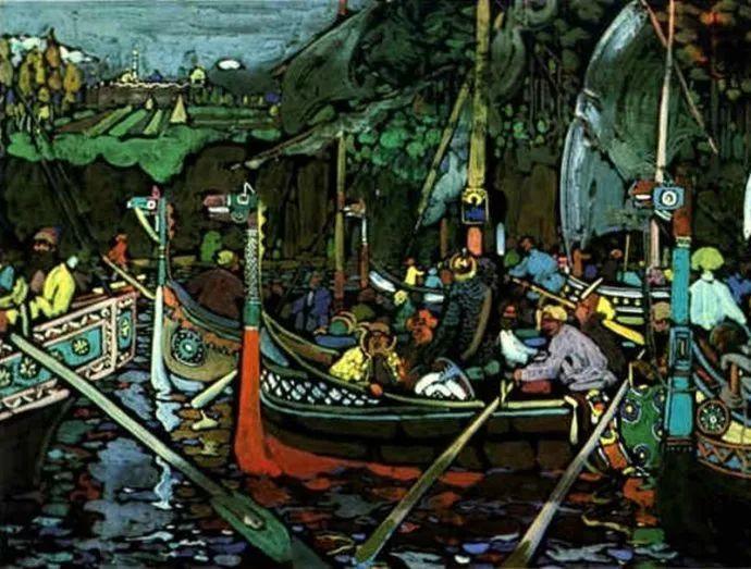 抽象主义 俄罗斯画家康定斯基(1866-1944)插图63