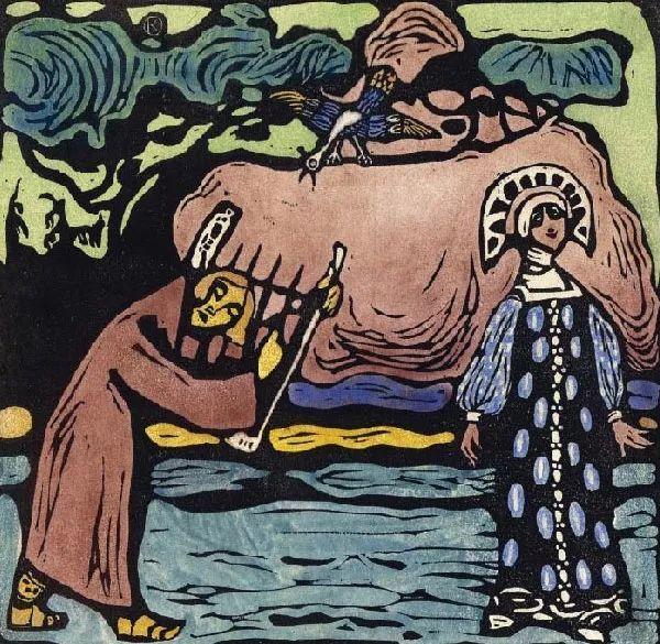 抽象主义 俄罗斯画家康定斯基(1866-1944)插图65