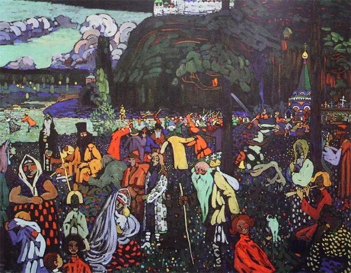 抽象主义 俄罗斯画家康定斯基(1866-1944)插图67