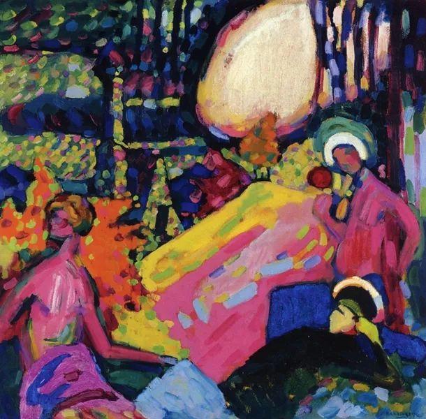 抽象主义 俄罗斯画家康定斯基(1866-1944)插图71