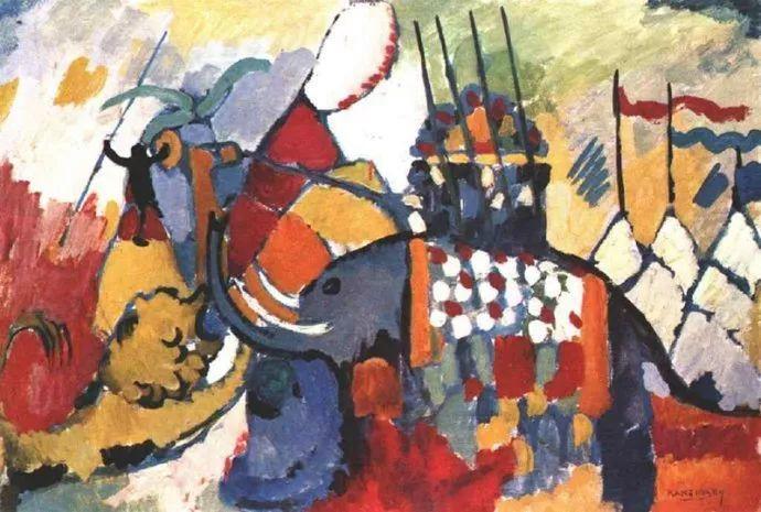 抽象主义 俄罗斯画家康定斯基(1866-1944)插图73