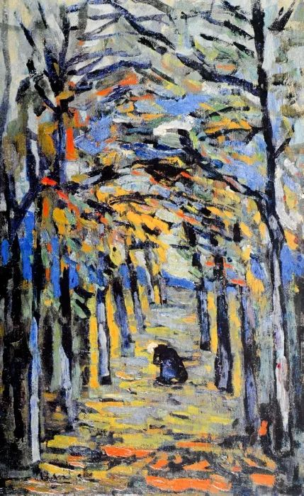 野兽派主要代表 法国画家弗拉芒克插图1