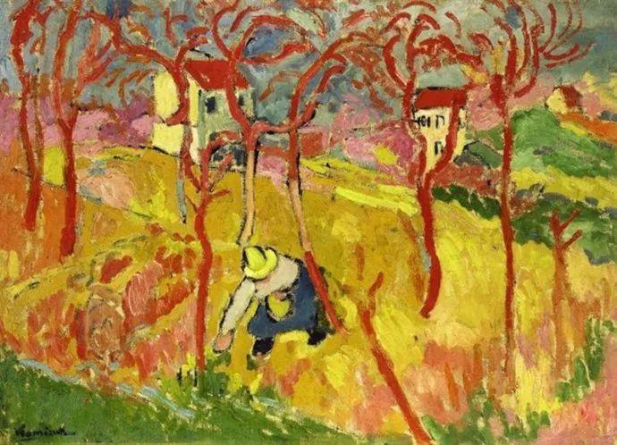 野兽派主要代表 法国画家弗拉芒克插图7
