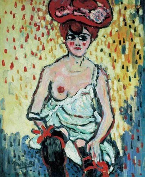 野兽派主要代表 法国画家弗拉芒克插图19
