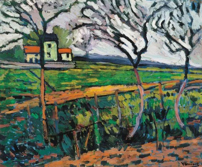 野兽派主要代表 法国画家弗拉芒克插图35