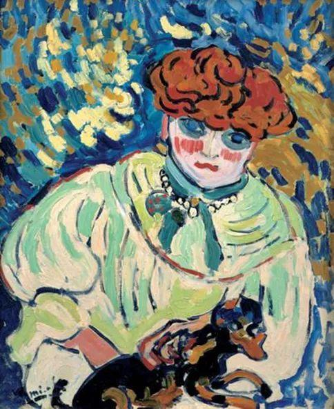 野兽派主要代表 法国画家弗拉芒克插图45