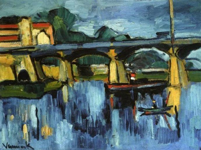 野兽派主要代表 法国画家弗拉芒克插图49