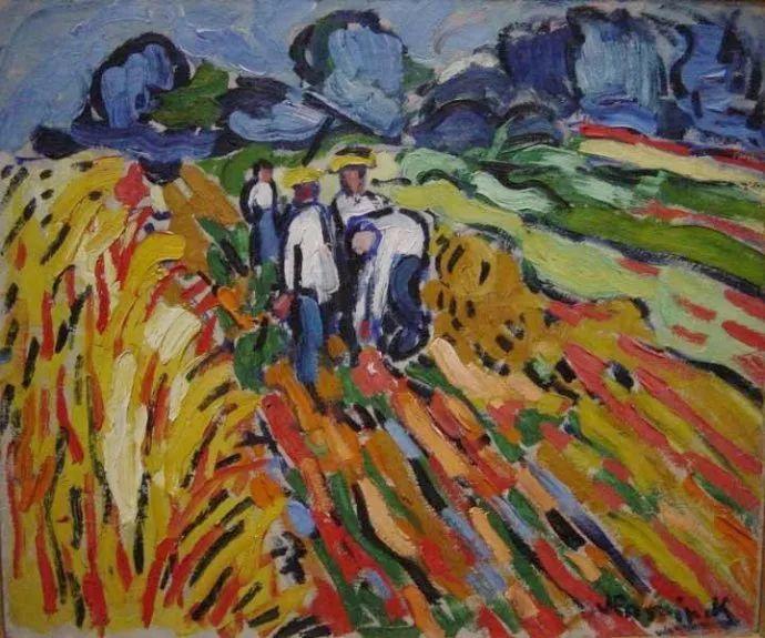 野兽派主要代表 法国画家弗拉芒克插图67