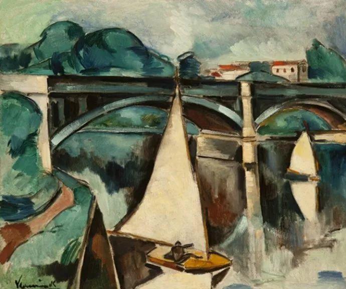 野兽派主要代表 法国画家弗拉芒克插图69