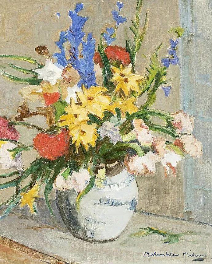 苏格兰画家John MacLauchlan Milne(1885–1957)插图1