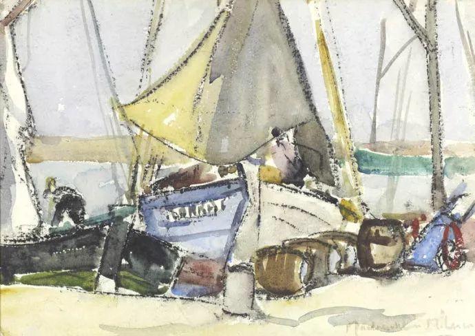苏格兰画家John MacLauchlan Milne(1885–1957)插图5