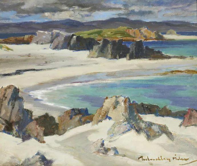 苏格兰画家John MacLauchlan Milne(1885–1957)插图11