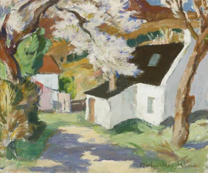苏格兰画家John MacLauchlan Milne(1885–1957)插图23