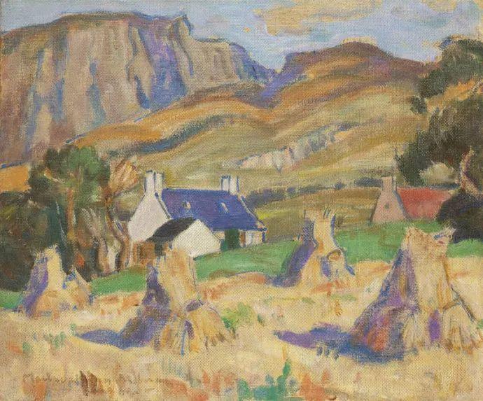 苏格兰画家John MacLauchlan Milne(1885–1957)插图25