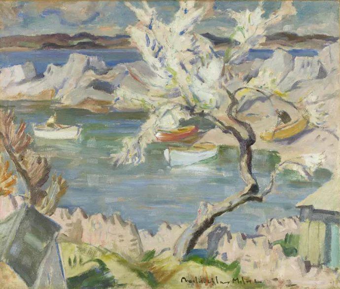 苏格兰画家John MacLauchlan Milne(1885–1957)插图27