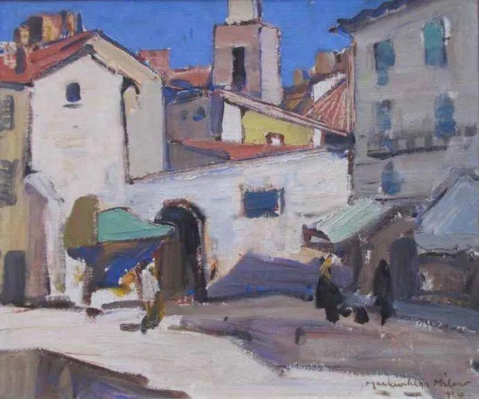 苏格兰画家John MacLauchlan Milne(1885–1957)插图29