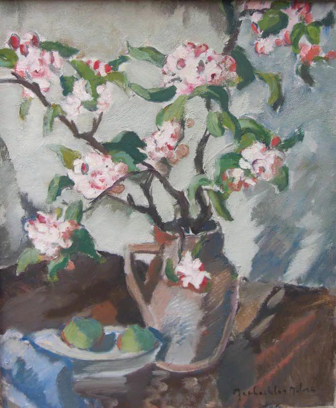 苏格兰画家John MacLauchlan Milne(1885–1957)插图31